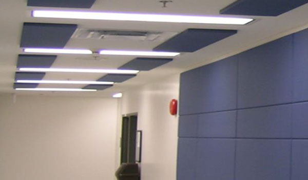 Kankio paneles para techo de nubes acusticas de tela - Paneles decorativos para techos ...